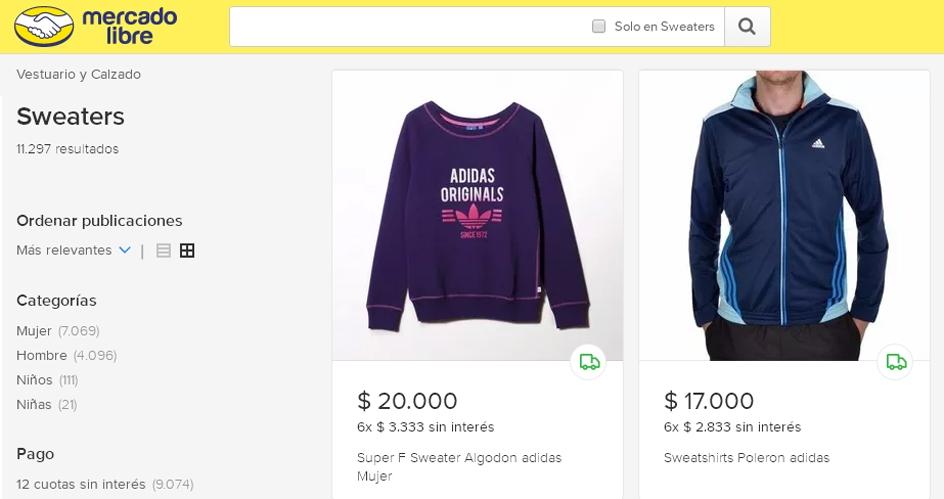 bda744052 La ropa es lo que más se compra por internet en Chile y España ...