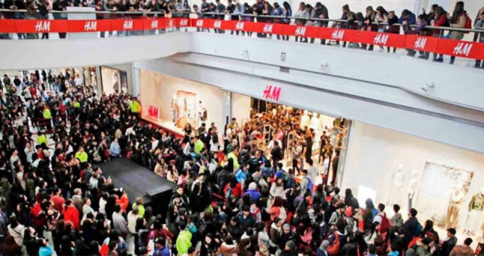 H&M inauguró su local más grande en Chile