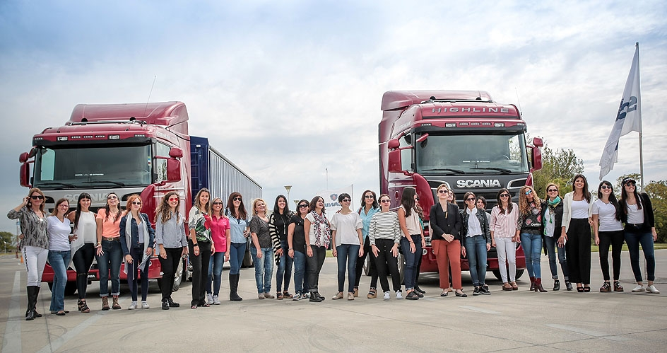 "Scania realizó el ""Queen of the Road"""