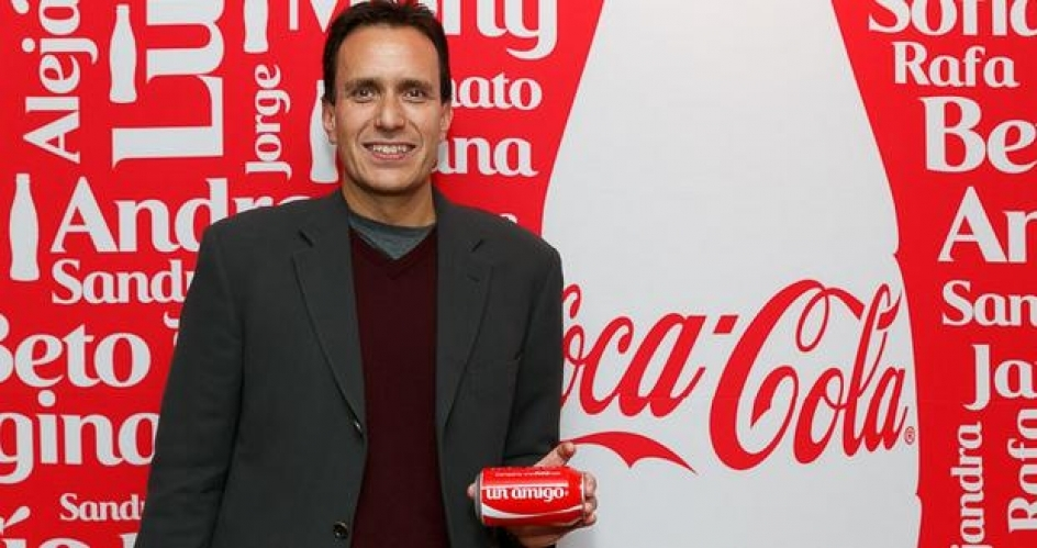 José Luis Basauri es VP de marketing para el sudeste asiático en Coca-Cola