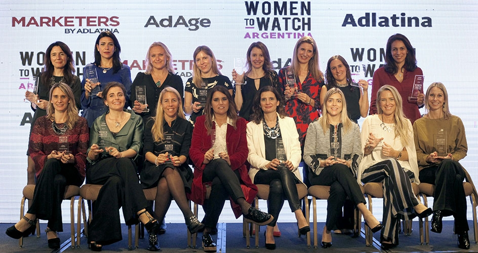 Se entregaron las distinciones a las 16 Women to Watch Argentina 2018