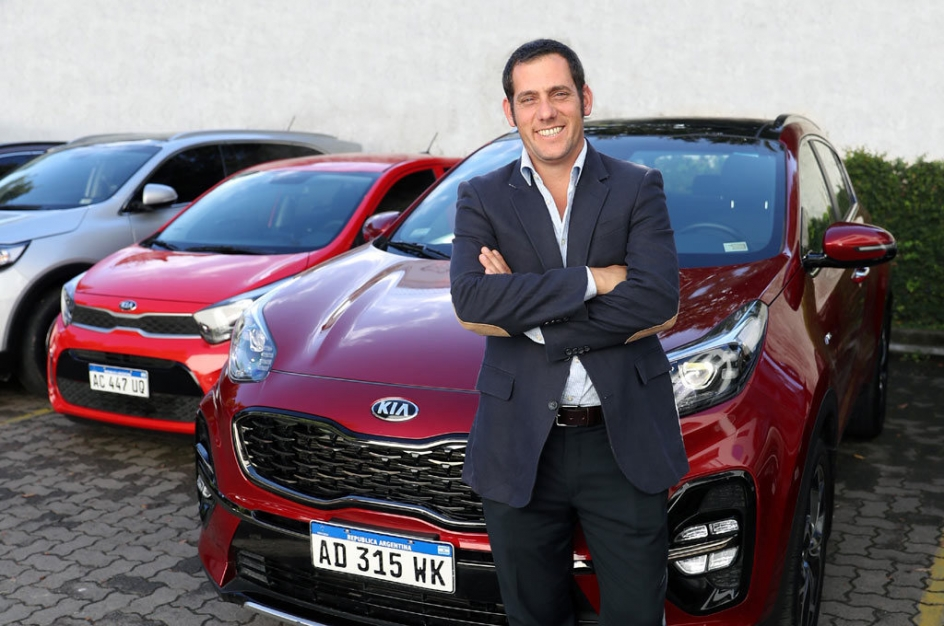 Luciano Ferrari será gerente de marketing en Kia Motors Argentina