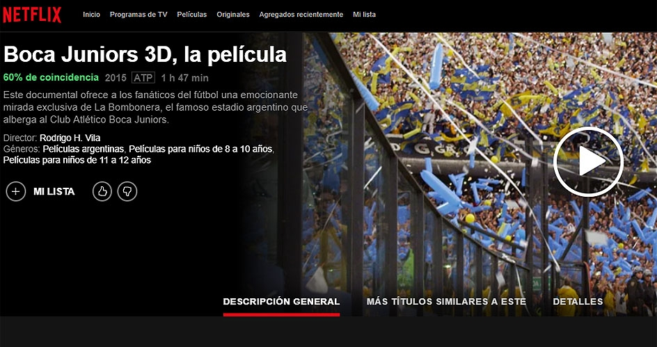 Netflix hará un documental de Boca